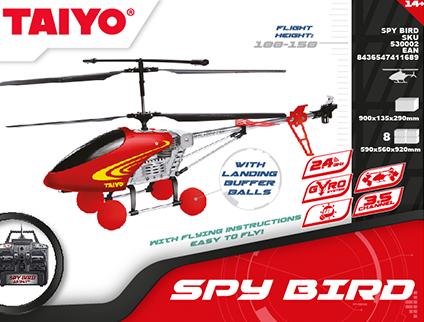 Spy bird Taiyo